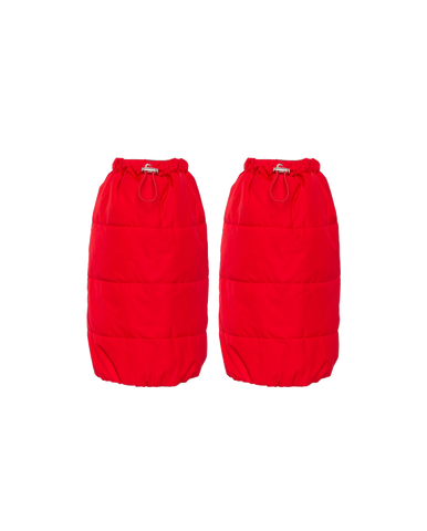 The Gstaad Gaiter, Fiery Red