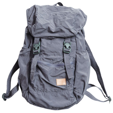 Nylon Packable Backpack, Grey