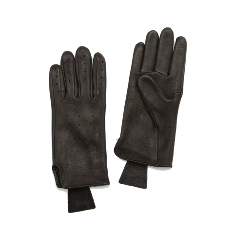 Deerskin Driving Gloves, Black