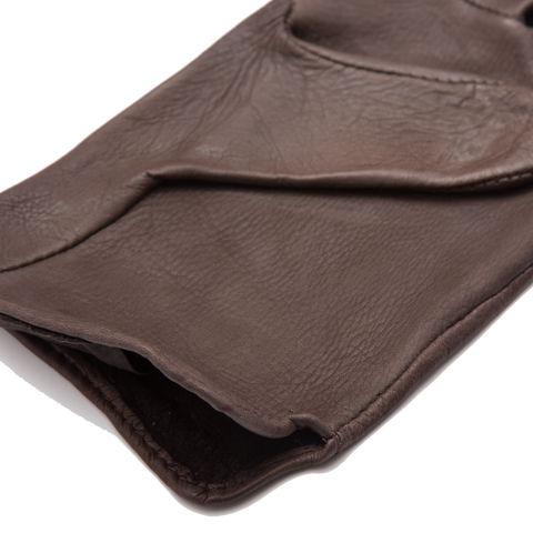 Deerskin Driving Gloves, Brown