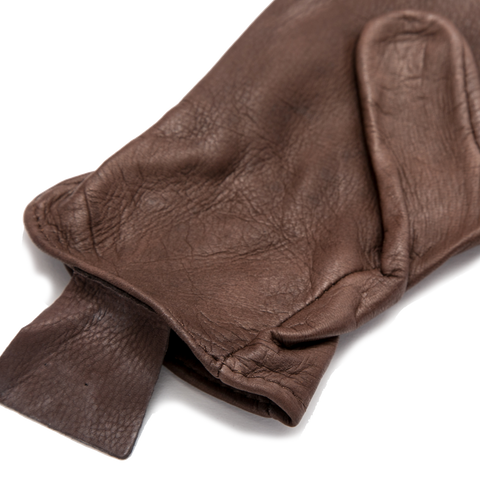 Medium Weight Deerskin Glove, Brown