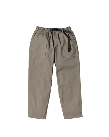 Loose Tapered Pants, Khaki Grey