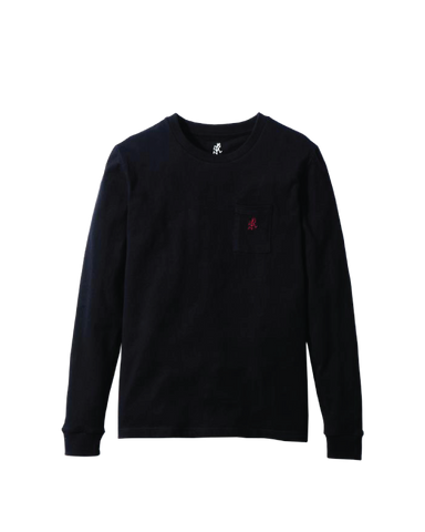 One Point L/S Tee, Black