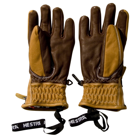 Swiss Furano Ski Glove, Cork / Brown