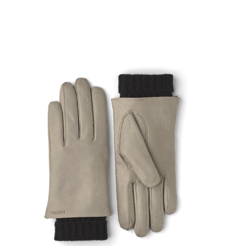 Megan Gloves, Natural Grey