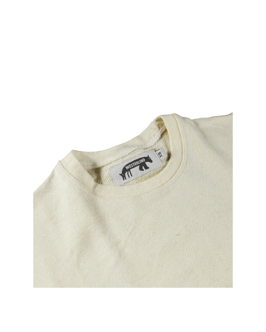 Women's 9.7oz Hemp T-Shirt, Natural