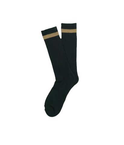 Town And Country Socks, Black/Coyote