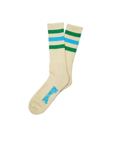 Town And Country Socks, Kelly Green/Pool Blue