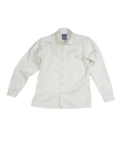 Topanga Shirt, Washed White