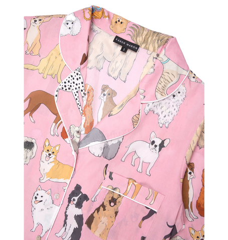 Crufts Pyjama Set, Pink