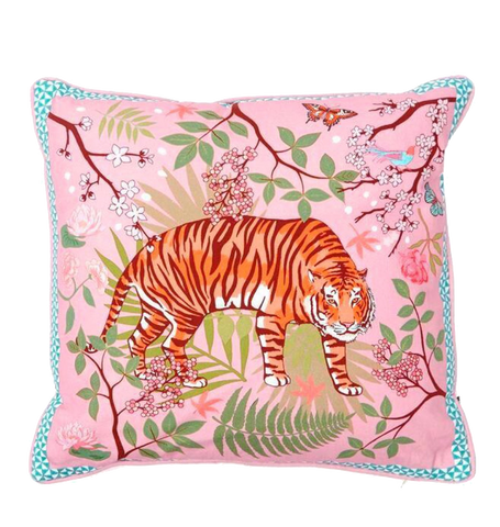 Tiger Blossom Cushion, Tiger Blossom