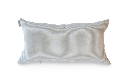 Kudde Pillowcase 40x70cm, White Herringbone/Natural
