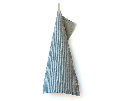 Lilla Storm Hand Towel, Blue/Light Blue