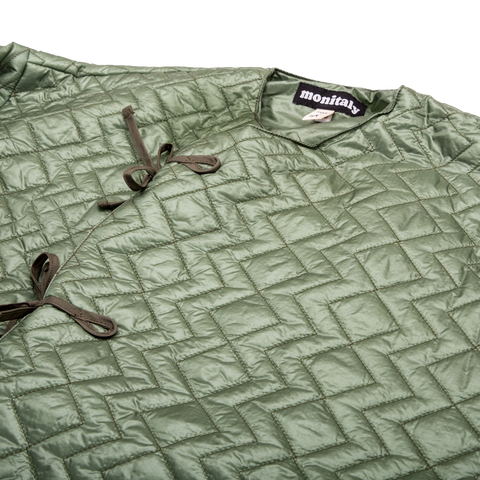 Crewneck Field Shell Jacket, Green