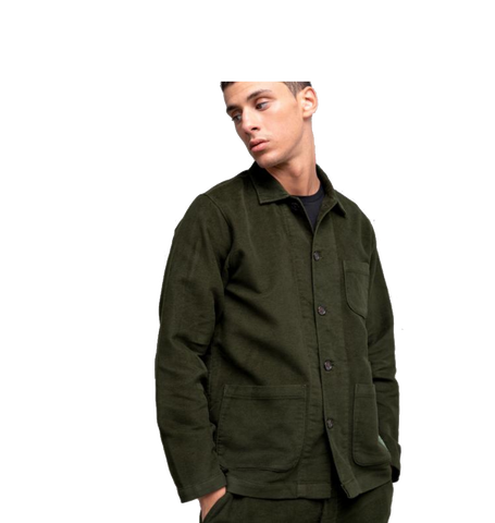X Universal Works Light Jacket, Dark Olive