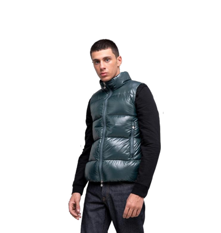Loic Down Vest, Baltic Green