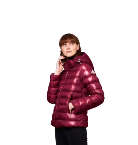 Spoutnic Shiny Down Jacket, Burgundy