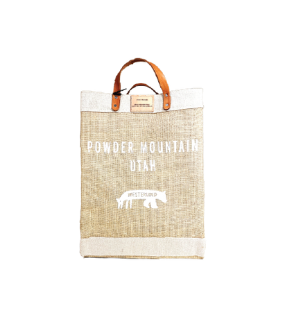Powder Mountain Market Bag