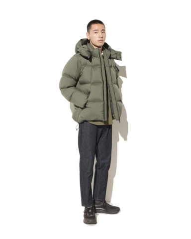 Spur Down Parka, Cypress Green