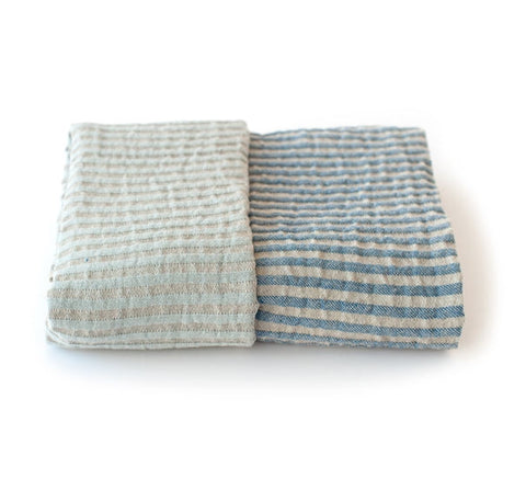Storm Bath Towel, Blue/Light Blue