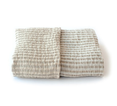 Storm Bath Towel, White/Golden