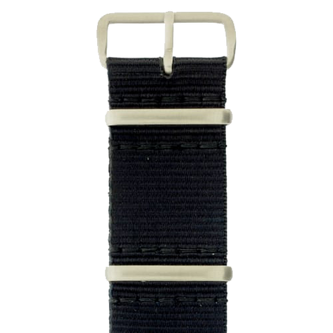 20 x 280mm GB Nylon Strap, Black