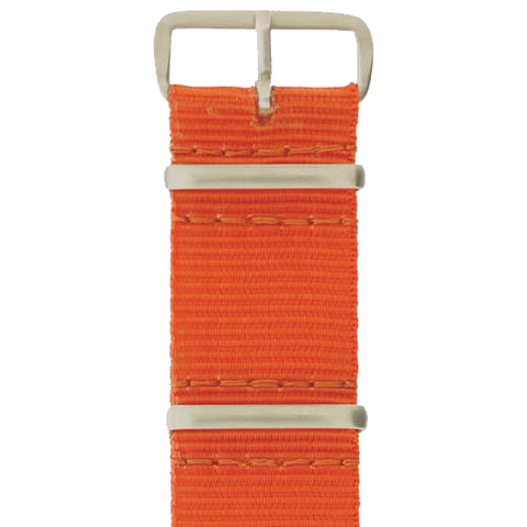 20 x 280mm GB Nylon Strap, Orange