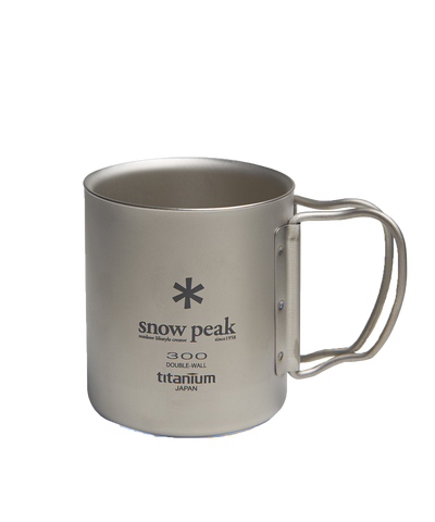 Titanium Double 300 Mug with Logo