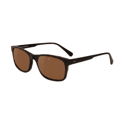 District - Medium Rectangle, Matte Tortoise