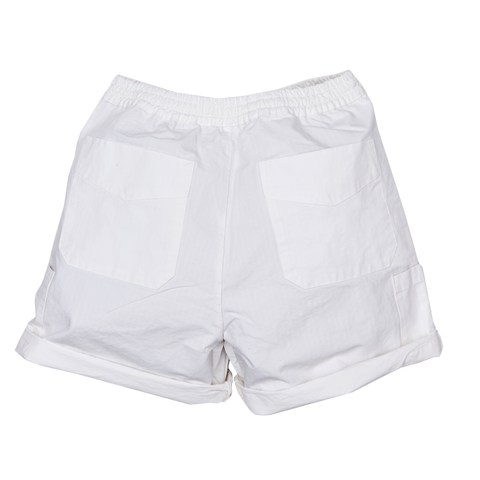 Climbing Wide Shorts, White