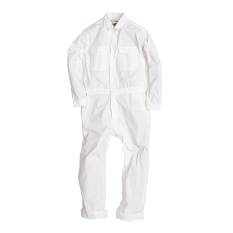 Climbing Jumpsuit, White