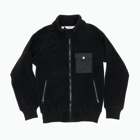 Warm-Up Fleece, Black