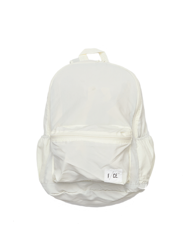 Wash Nylon Packable Day Pack, White