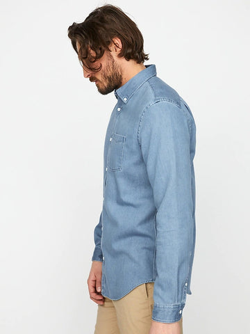Hybrid Denim Shirt (S20PPUP), Medium Blue