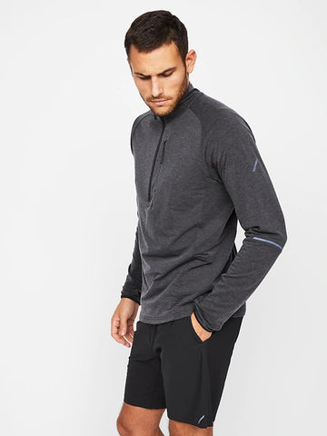 Train 1/2 Zip (S20PPUP), Charcoal Heather