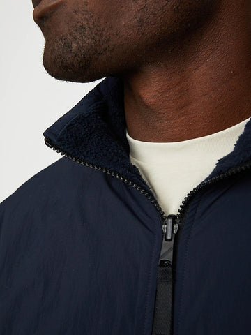 Reversible Hydro Fleece Jacket (S20PPUP), Navy