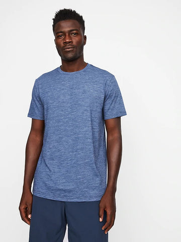 Everyday Merino Tee (S20PPUP), Blue Heather