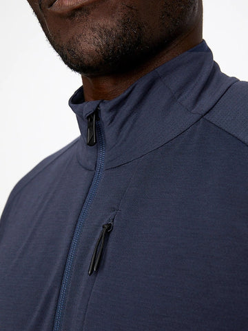 Train 1/2 Zip (S20PPUP), Navy
