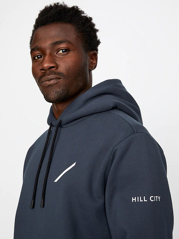 Heavyweight Fleece Graphic Hoodie (S20PPUP), Navy