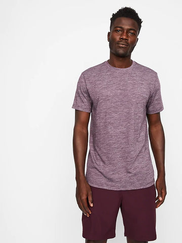 Everyday Merino Tee (S20PPUP), Burgundy Heather