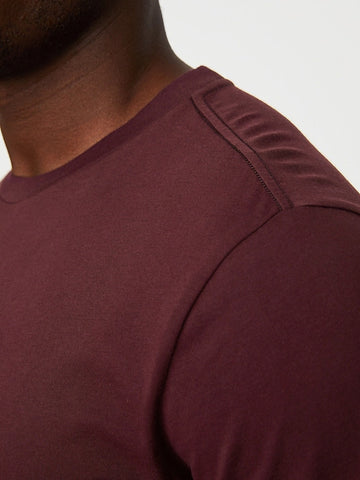 Performance Supima Tee (S20PPUP), Burgundy