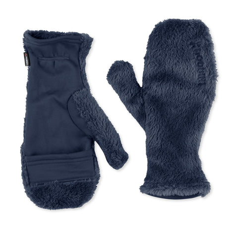 Hairy Magic Mitts, Blue Illusion