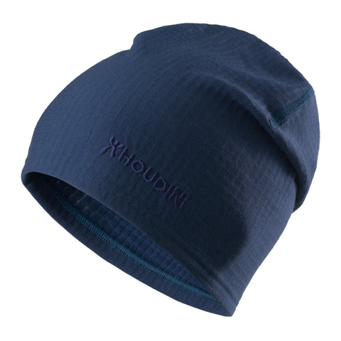 Wooler Top Hat, Blue Illusion