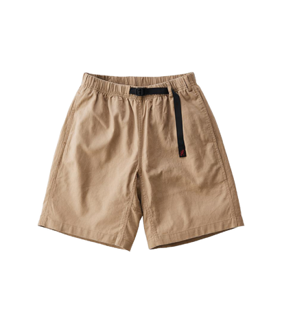 Linen Cotton G-Shorts , Beige