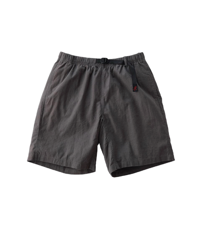 Linen Cotton G-Shorts , Charcoal