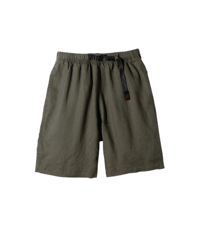 Linen Cotton G-Shorts , Olive