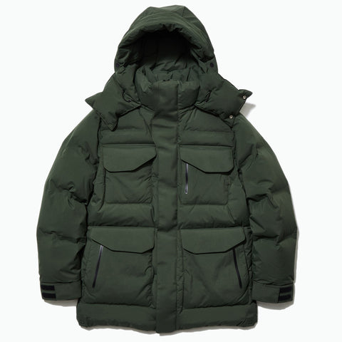 Goldwin GORE-TEX INFINIUM(TM) W/S Down Parka, Cypress Green