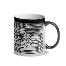 "Load image into Gallery viewer, -coffee mug ""magic"" mt. lines"