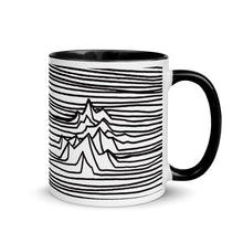 Load image into Gallery viewer, -coffee mug mt. lines