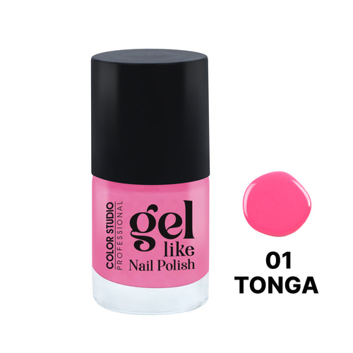 Gel Like Nail Polish -  01 Tonga - COLORSTUDIOMAKEUP